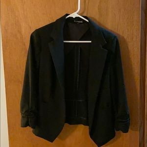 Express 3/4 sleeve blazer